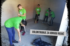 Volonterski klub Plavi mravi - aktivnosti